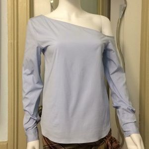 Theory Off-Shoulder Top